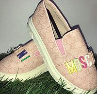 Туфли для девочки Moschino размеры 21-26