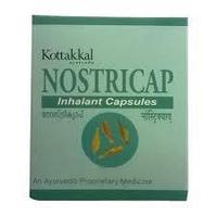 Нострикап капсулы / Nostricap, Kottakkal / 10 шт.