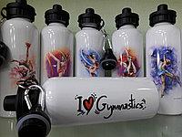 """Бутылочка для воды  """"Художественная гимнастика"""""""
