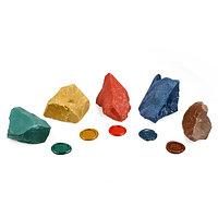 Сургуч цветной (красный, оранжевый, бронзовый, синий, зеленый)