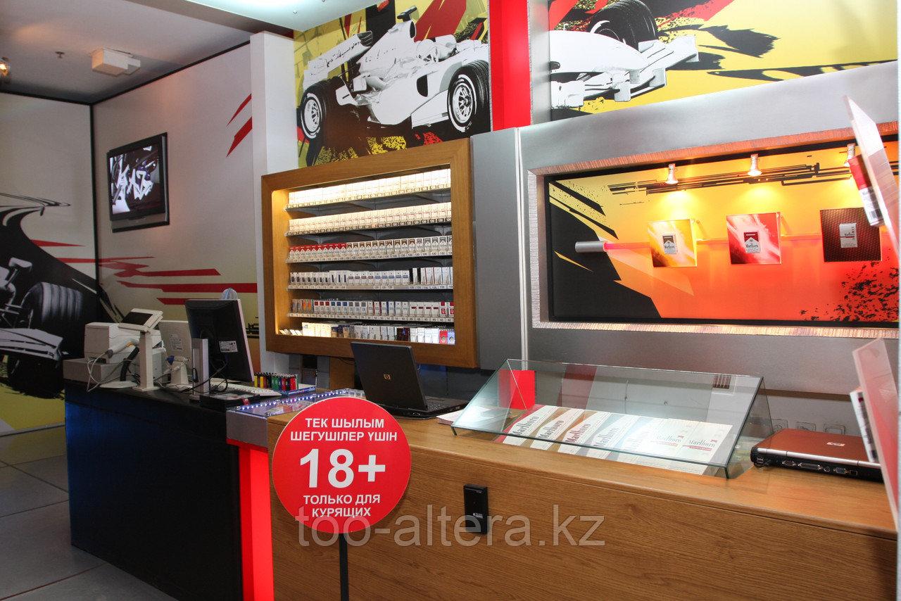 Оформление бутиков и салонов в Алматы
