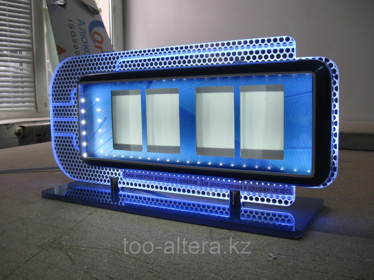 Производство POS-материалов в Алматы