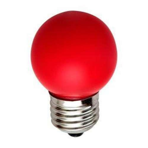 Цветная Led лампа 1 Watt. E27