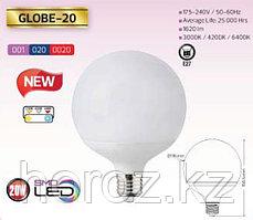 Светодиодная лампа Globe-20 Watt 4200K