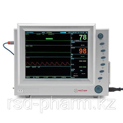 """Монитор прикроватный многофункциональный медицинский """"Armed"""" PC-9000b (с встроенным принтером), фото 2"""