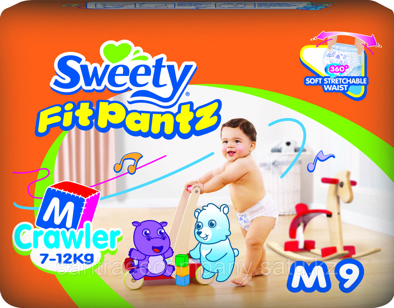 Трусики Sweety Fit Pantz M9 (7-12)