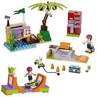 "Конструктор Bela Friends 10491 ""Скейт-парк"" (Аналог LEGO Friends 41099), 202 дет​али"