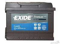 Аккумулятор Exide EA 601  60Ah
