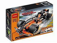 """Конструктор Decool 3413 (аналог Lego Technic 42026) """"Черный гоночный болид"""", 137 дет"""