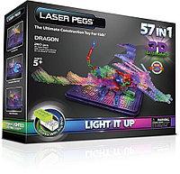 Laser Pegs (Лазер Пегс) Световая 3D панель Дракон