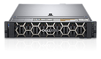 Сервер PowerEdge R740 1*Intel Xeon Silver 4114 2.2GHz,256GB, 2x600GB,NO OS, 3Y PS NBD 210-AKXJ-105