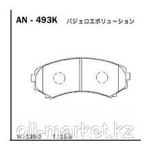 AKEBONO JAPAN AN-493K Колодки передние Mitsubishi Pajero >97, Pajero Sport >98, Grandis >04