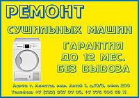 Замена Тэна сушильной машины (барабана) Indesit/Индезит в Алматы