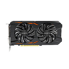 Видеокарта Gigabyte GV-N105TWF2OC-4GD 1.0  PCI-E GeForce® GTX 1050 Ti Windforce OC 4GB GDDR5 128bit