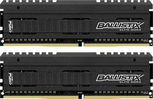 Оперативная память DDR4 3200MHz Crucial Ballistix Elite 16GB Kit (2 x 8GB) UDIMM PC4-25600 NON-ECC
