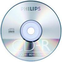 Диск CD-R  Philips 700Mb/80мин/48х