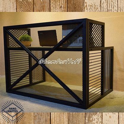 Стол с металлическим каркасом в стиле Loft , фото 3