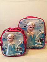 Школьный рюкзак для девочки с 1-го по 3-й класс. Высота 39см,длина 29см,ширина 16см., фото 1