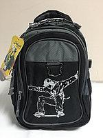 Школьный рюкзак для мальчика на 1-й класс. Высота 37 см,длина 26 см,ширина 14 см., фото 1