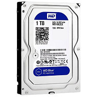 "Жесткий диск HDD 1Tb Western Digital Blue SATA 6Gb/s  3.5"" 7200rpm 64Mb WD10EZEX"