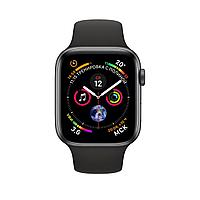 Apple Watch 40mm Series 4 Space Gray Aluminum Case with Black Sport Band