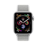 Apple Watch 44mm Series 4 Silver Aluminum Case with Seashell Sport Loop
