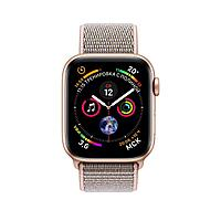 Apple Watch 44mm Series 4 Gold Aluminum Case with Pink Sand Sport Loop