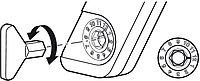 Шестигранный ключ пластик серый SW 10, фото 1