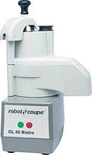 Овощерезка ROBOT COUPE CL30 Bistro. Производительность: до 60 кг/ч Скорость: 375 об/мин Габаритные размеры: 320х304х590 мм Мощность: 0,5 кВт Напряжение: 220 В