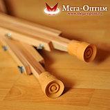 Костыли подмышечные с деревянными ручками 01-К, фото 4