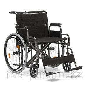 """Надежная инвалидная коляска с повышенной грузоподъемностью и удобной единой ручкой """"Armed"""" FS209AE (24"""")"""