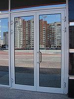 Сборка алюминиевых дверей