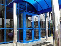 Автоматические стеклянные двери