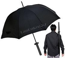 """Мужской зонт """"МЕЧ"""" (зонт катана) с серебряной ручкой"""
