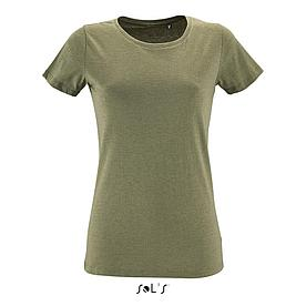 Футболка женская Regent Fit Women | Sols | Heather khaki