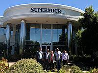 Визит наших сотрудников в офис компании Supermicro