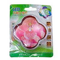 """LED ночник в розетку """"Барби"""", розовая"""