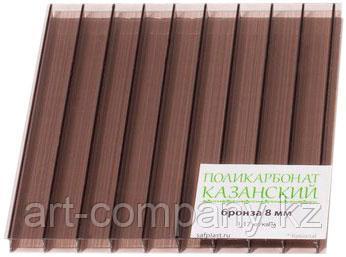 Сотовый поликарбонат Казанский 8мм