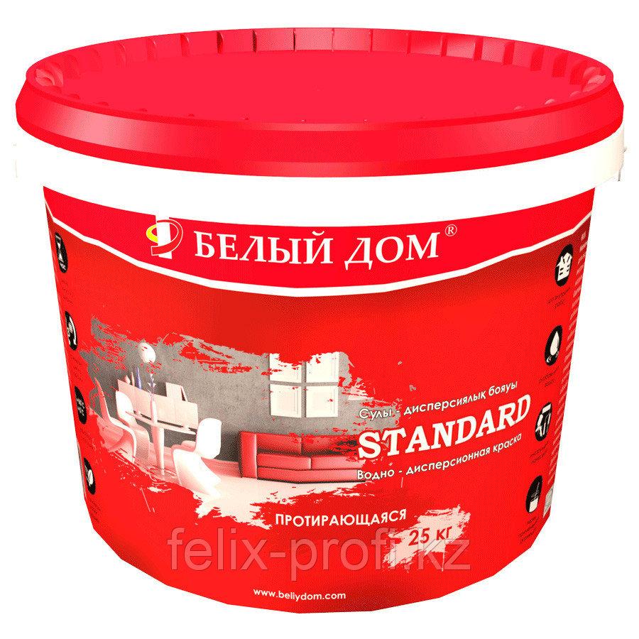 """Протирающаяся краска для внутренних работ """"STANDARD"""" 7 л."""