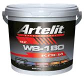 ARTELIT клей универс. для наполных покр. WB-180 (4кг)