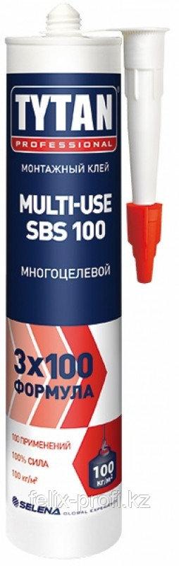 TYTAN Монтажный клей MULTI-USE SBS 901 (310мл.) бежевый