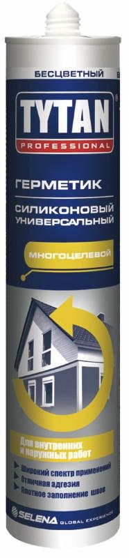 Tytan Professional силикон универсальный (310мл) бесцветный (КНР)
