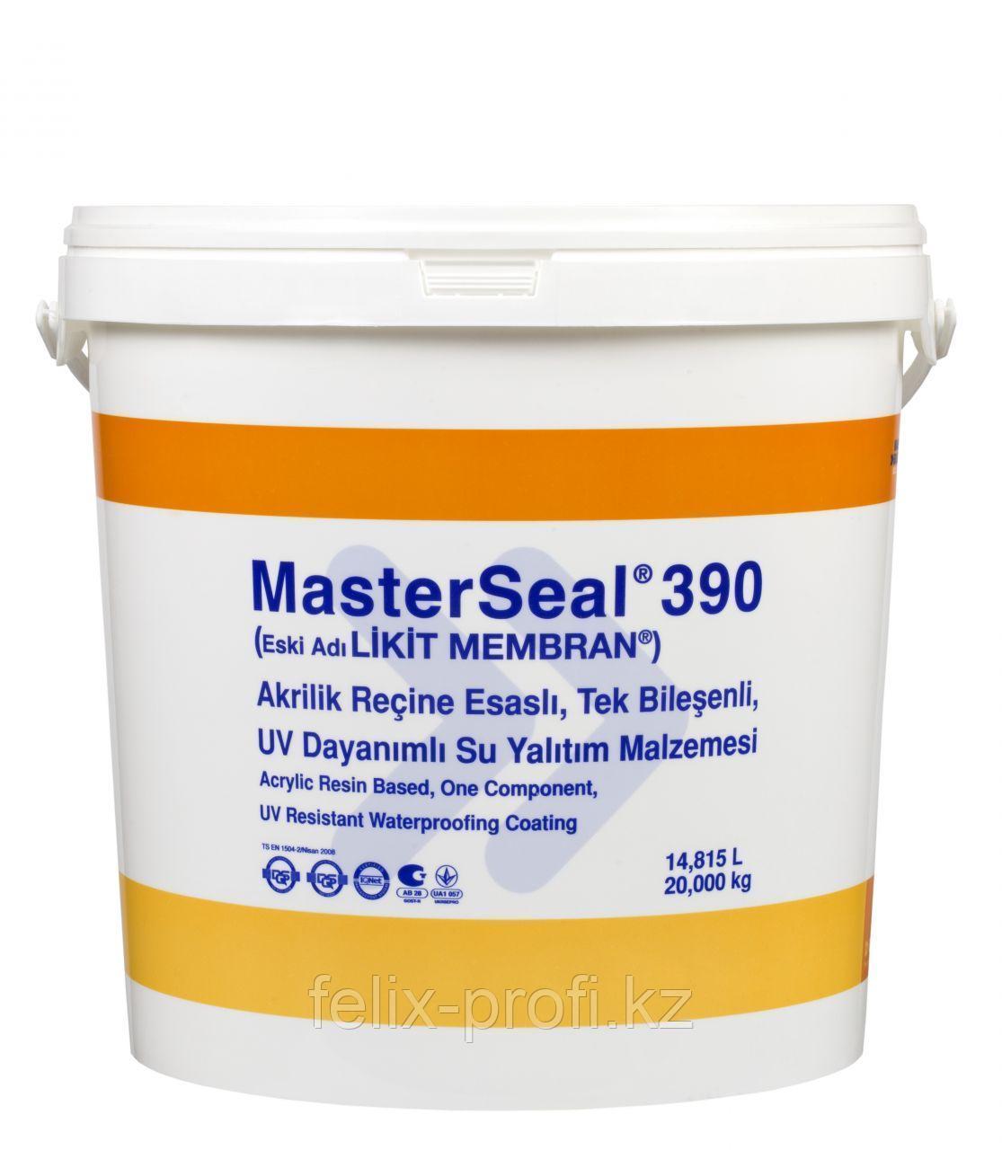Masterseal 390 (Likit Membran), 20кг, водоизоляц. Мат-л