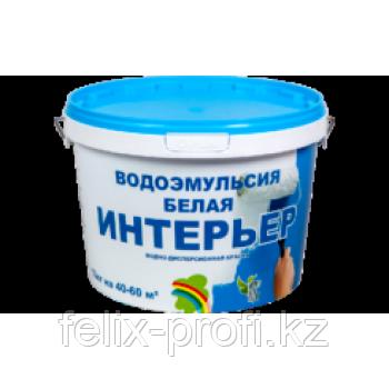 """""""ИНТЕРЬЕР"""" КРАСКА ВОДОЭМУЛЬСИОННАЯ БЕЛАЯ 24 кг"""