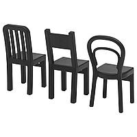 Крючок ФЬЙАНТИГ 3 шт.  чёрный ИКЕА, IKEA