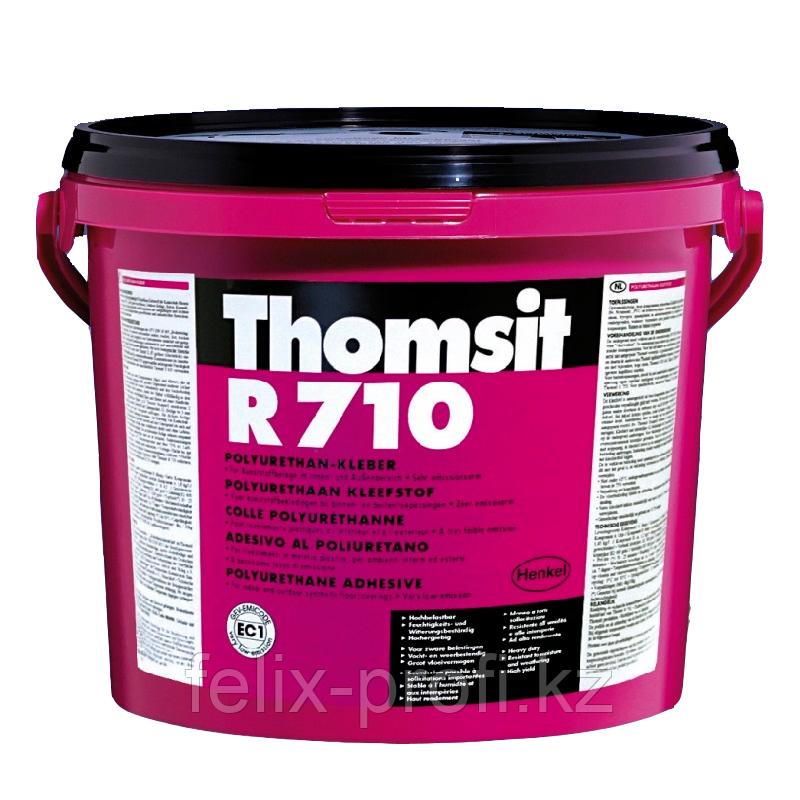 Thomsit R 710 ( 8,2 кг+1,8 кг)  Двухкомпонентный полиуретановый клей для высокопрочного приклеивания покрытий,