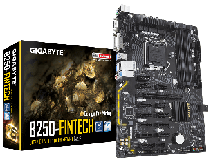 Материнская плата Gigabyte GA-B250 Fintech, фото 2