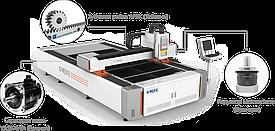 Оптоволоконный лазерный станок для резки металла LF3015L