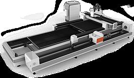 Оптоволоконный лазерный станок для резки металлических листов и труб GCR