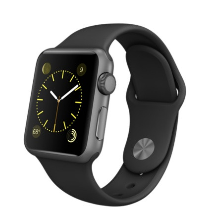 Умные часы Apple Watch Series 1, 38mm Space Grey Aluminium Model A1802